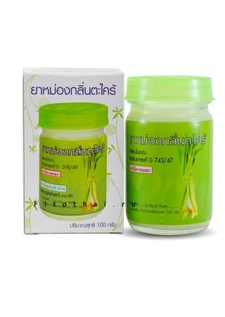 Тайский бальзам с лемонграссом Citronella Kongka 50 ml