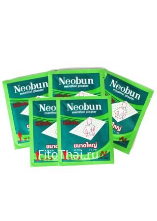 Тайский пластырь Neobun обезбаливающий охлаждающий 5 упаковок